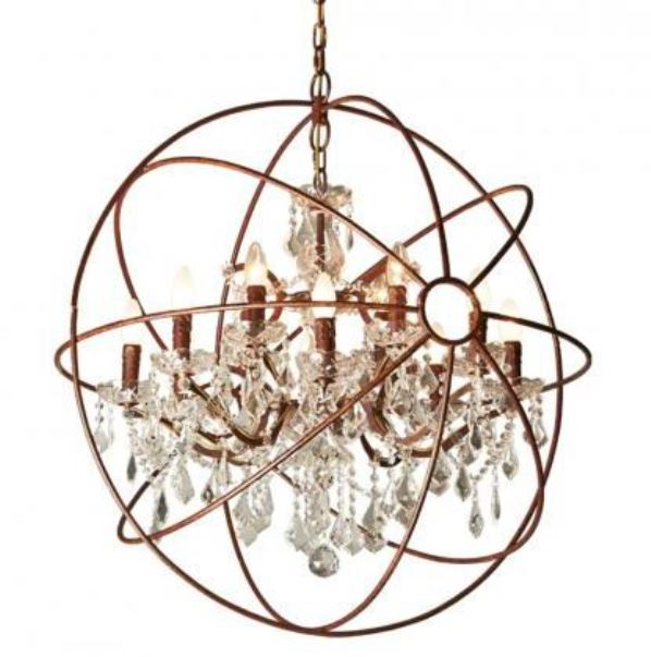 Gramercy, Светильник IRON ORB CHANDELIER, арт. CH014-12-LRR