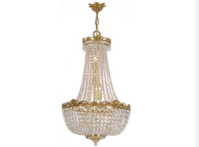 RIPERLAMP, Люстра, арт. 049АО Swarovski