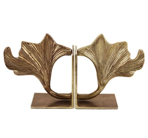 G&C/ Арт композиция/ BOOKENDS, GINGKO BILOBA LEAF